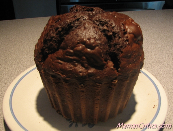 Giant Cupcake Baked