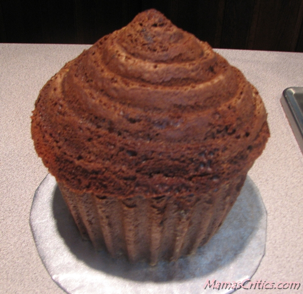 Top on Giant Cupcake