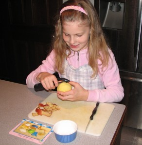 Cooking with Kids, Apple Crisp