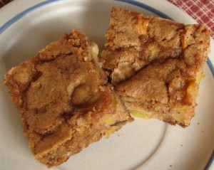 Apple Walnut Bars