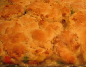 What to do with Leftover Turkey-Turkey Pot Pie