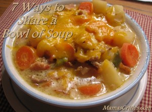7 Ways to Share a Bowl of Soup
