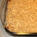Mama's Old Fashioned Apple Crisp