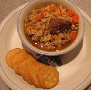 Mama's Beef Barley Soup