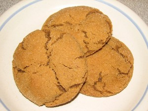 Mama's Spicy Ginger Crinkle Cookies